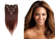 38cm 70g REMY Clip-In juuksepikendused 04 keskminepruun