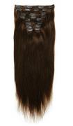 50cm 160g REMY Clip-In juuksepikendused 04 pruun