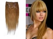 50cm 100g REMY Clip-In juuksepikendused 12 helepruun
