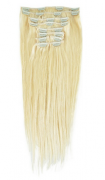 50cm 160g REMY Clip-In juuksepikendused 60 blond