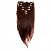 50cm 70g REMY Clip-In juuksepikendused 02 tumepruun