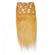 50cm 160g REMY Clip-In juuksepikendused 27 tumeblond