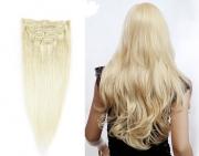 50cm 100g REMY Clip-In juuksepikendused 60 blond
