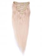 60cm 120g REMY Clip-In juuksepikendused 613 blond