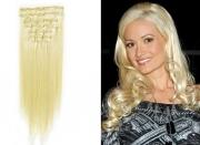50cm 100g REMY Clip-In juuksepikendused 613 kuldblond