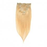 50cm 70g REMY Clip-In juuksepikendused 613 kuldblond
