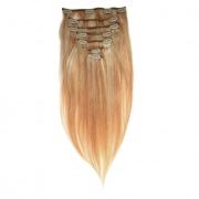 50cm 70g REMY Clip-In juuksepikendused 27/613