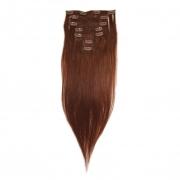 50cm 70g REMY Clip-In juuksepikendused 06 pruun