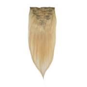 50cm 70g REMY Clip-In juuksepikendused 60 blond