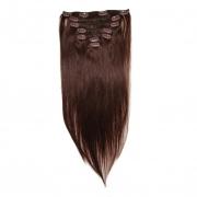 50cm 70g REMY Clip-In juuksepikendused 04 pruun